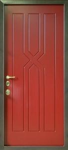 Стальная дверь с отделкой МДФ №10