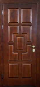 Дверь с отделкой массивом дуба №05