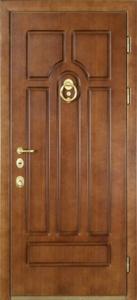 Стальная дверь с отделкой МДФ №12