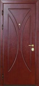 Стальная дверь с отделкой МДФ №15