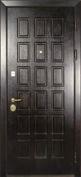 Стальная дверь с отделкой МДФ №16