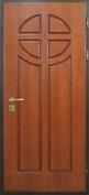 Стальная дверь с отделкой МДФ №19