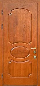 Стальная дверь с отделкой МДФ №01