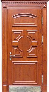 Парадная стальная дверь №01