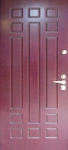Стальная дверь с отделкой МДФ №21