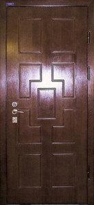 Стальная дверь с отделкой МДФ №22