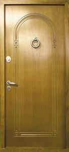 Стальная дверь с отделкой МДФ №23
