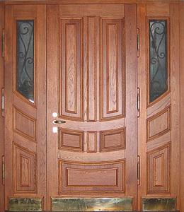 Парадная стальная дверь №23
