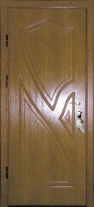 Стальная дверь с отделкой МДФ №24