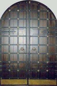 Парадная стальная дверь №24