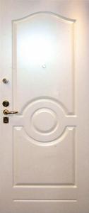 Стальная дверь с отделкой МДФ №27