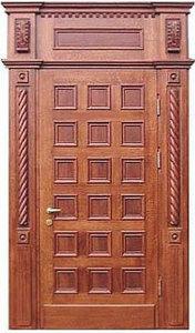 Парадная стальная дверь №02