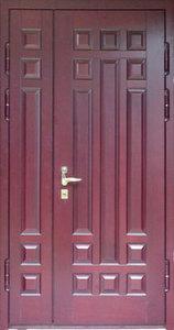 Стальная дверь с отделкой МДФ №34