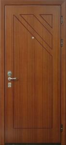 Стальная дверь с отделкой МДФ №03