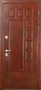 Стальная дверь с отделкой МДФ №04