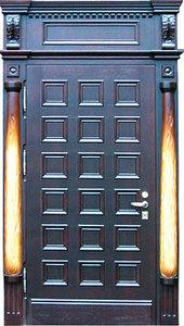 Парадная стальная дверь №04