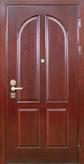 Дверь с отделкой массивом дуба №02