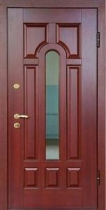 Стальная дверь с зеркалом №6