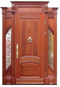 Парадная стальная дверь №17