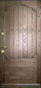 Стальная дверь с вагонкой №5