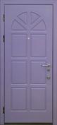 Стальная дверь с отделкой МДФ №07