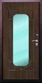 Стальная дверь с зеркалом №7