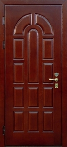 Стальная дверь с отделкой МДФ №08