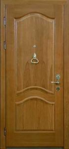 Дверь с отделкой массивом дуба №03