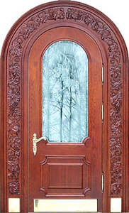 Парадная стальная дверь №06