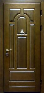 Дверь с отделкой массивом дуба №01