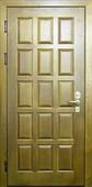 Дверь с отделкой массивом дуба №07