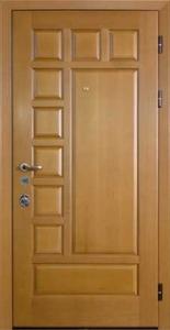 Дверь с отделкой массивом дуба №08