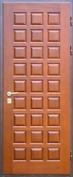 Дверь с отделкой массивом дуба №09