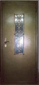 Металлическая дверь с порошковым напылением №4